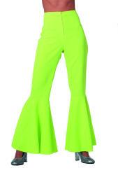 Broek ''Hippie'' Stretch voor Dames - neon groen