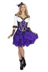 Dameskostuum Piraat - paars
