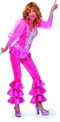Luxe Mamma Mia Kostuum voor Dames - roze