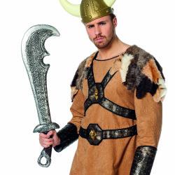 Zwaard warrior (76cm) oud-zilver