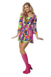 Hippie Jurk Dames - multikleur