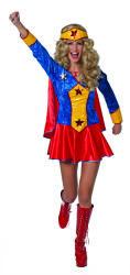 Wonderwoman Kostuum voor Dames - rood/blauw/geel