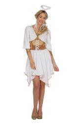 Lieve Engel Kostuum voor Dames - wit