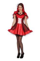 Dameskostuum Roodkapje Halloween