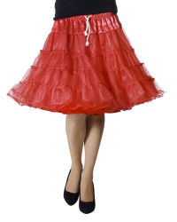 Luxe Petticoat Drielaags - rood