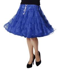 Luxe Petticoat Drielaags - blauw