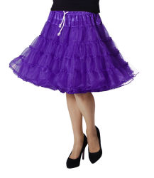 Luxe Petticoat Drielaags - paars
