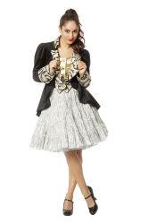 Luxe Petticoat Drielaags - zilver