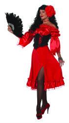 Lange Rok Uni - rood