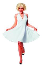 Dameskostuum Jurk Marilyn Monroe - wit
