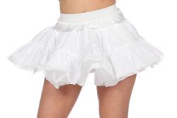 Petticoat Hard voor Dames - wit
