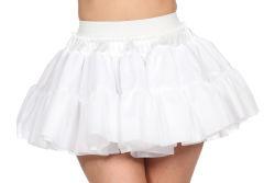Petticoat Zacht voor Dames - wit
