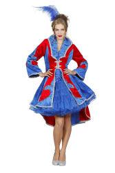 Luxe Damesjas Franse Lelie - blauw/rood