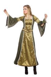 Dameskostuum Burchtvrouw in de Middeleeuwen