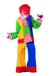 Clownkostuum voor Dames - Multi kleur