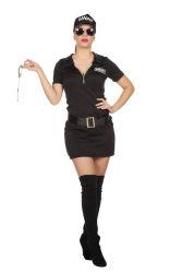 Sexy SWAT Kostuum voor Dames