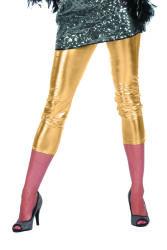 Korte Legging voor Dames - goud