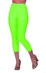 Korte Legging voor Dames - neon groen