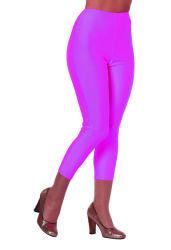 Korte Legging voor Dames - neon roze