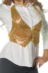 Vestje met Pailletten voor Dames - goud