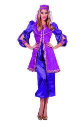 Dameskostuum Oosterse Prinses - paars