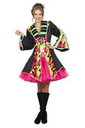 Carnavalsjas Circus voor Dames - zwart/multi