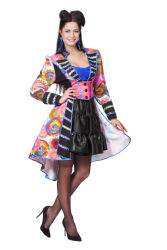 Luxe Carnavalsjas Multi Kleuren