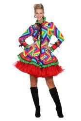 Carnavalsjas ''3D Blok'' - Kort - Damesmodel