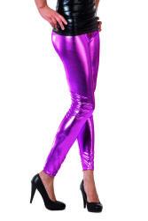 Legging Metallic - roze