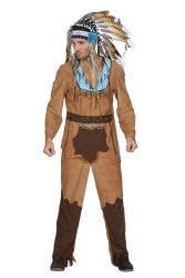 Indiaan Arapaho Kostuum voor Heren
