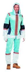 Eskimo Kostuum voor Heren - lichtblauw