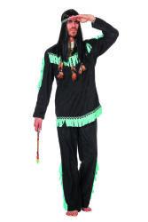 Indiaan Wishbone Kostuum voor Heren