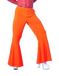 Broek ''Hippie'' Stretch voor Heren - oranje