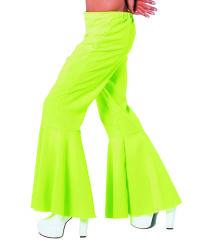 Broek ''Hippie'' Stretch voor Heren - neon groen
