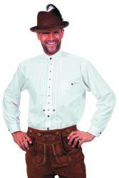 Tiroler Overhemd voor Heren - wit