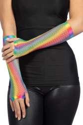Nethandschoenen Rainbow