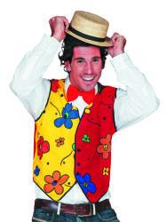 Clown Vest Bloemen voor Heren
