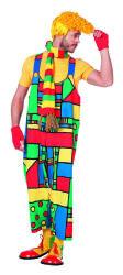 Clown Mondriaan Herenkostuum