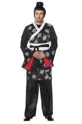 Aziatische Japon voor Heren - zwart