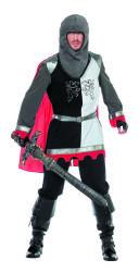 Ridder Kostuum voor Heren - zwart/wit