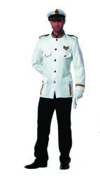 Marinier Kostuum voor Heren - wit