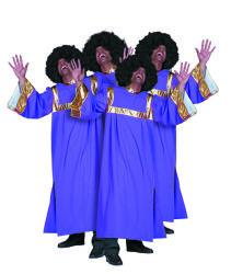 Gospel Koor Kostuum voor Heren - paars