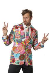 Heren Colbert Hippie - multi kleur