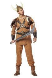 Viking kostuum ''Ragnar'' voor Heren - lichtbruin