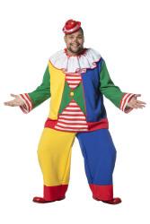 Clownskostuum Pipo voor Heren