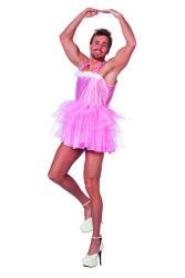 Ballerina Kostuum voor Heren - roze