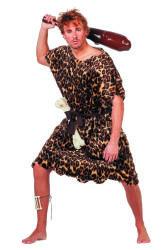 Holbewoner Kostuum voor Heren - panterprint