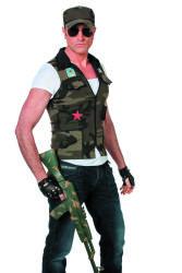 Camouflage Vest en Pet voor Heren