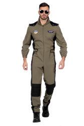 Top Gun Piloot Kostuum voor Heren