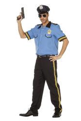 Politie Kostuum voor Heren - blauw